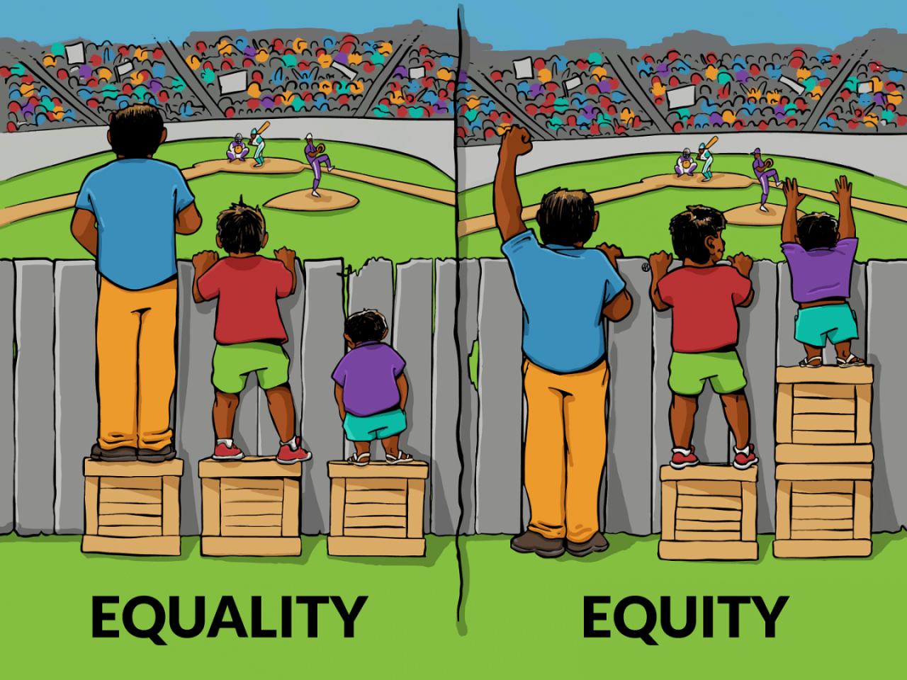 Uguaglianza: non solo palese, ma rispettuosa delle diversità.
